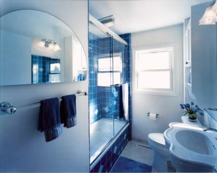 Цвет и фактура в оном стиле - ванна