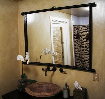 Зеркало на основе серебряной амальгамы