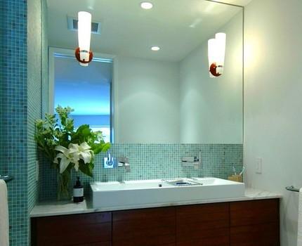 Настенные светильники для отражающей поверхности