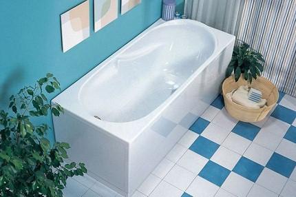 Прямоугольная форма ванны
