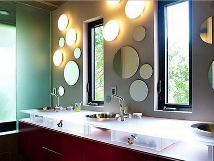 Комбинирование круглых зеркал