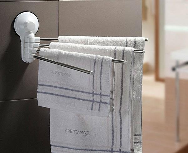 Полотенцедержатель в ванную: как выбрать и самостоятельно установить