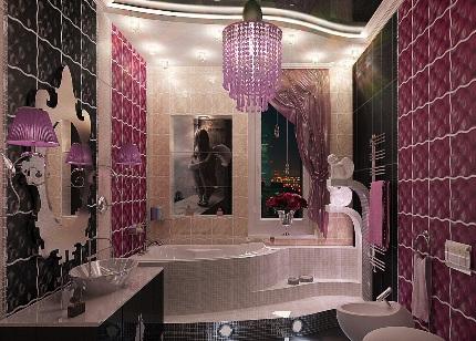 Ванна в стиле арт деко