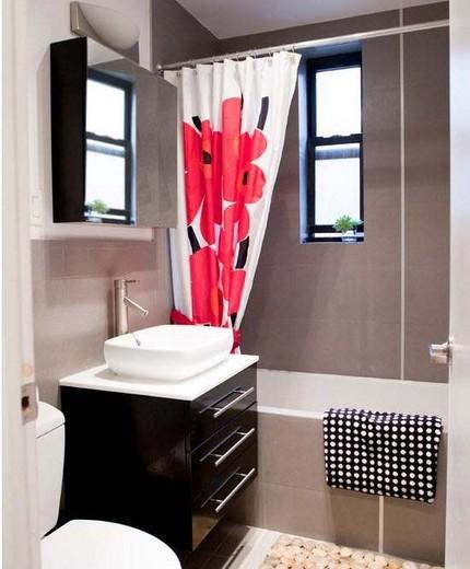 Уютная ванная на 3 кв. метрах