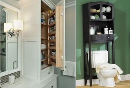Функциональная мебель для ванной