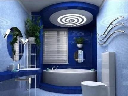 Зеркало круглой формы для ванной