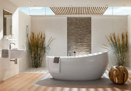 Расположение ванной комнаты