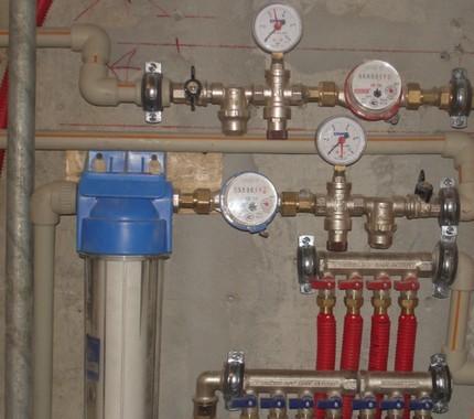 Регулятор давления при обустройстве системы отопления