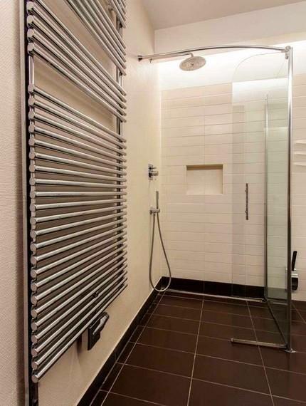 «Дизайн-радиатор» в ванной