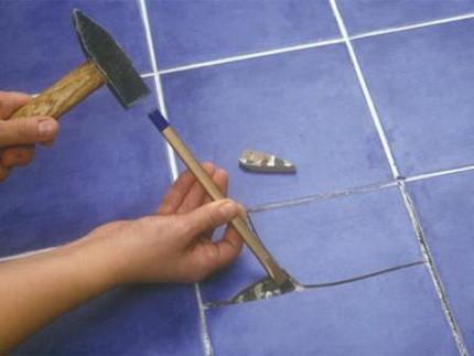 Ревизия покрытия из плитки