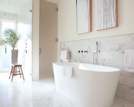 Стиль модерн в ванной