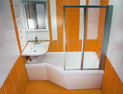 Экономия пространства в ванной