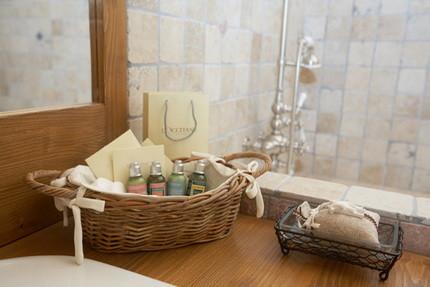 Аксессуары для ванной в прованском стиле