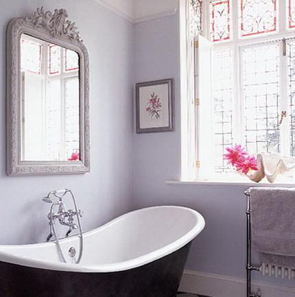 Цветовое решение ванной в стиле прованс