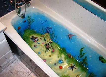 Аэрография для ванны