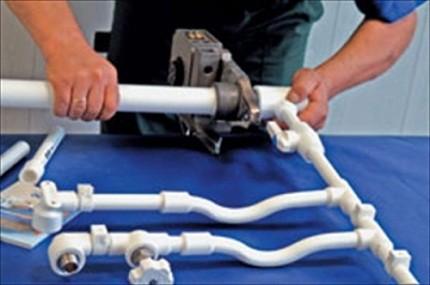 Соединение полипропиленовых труб