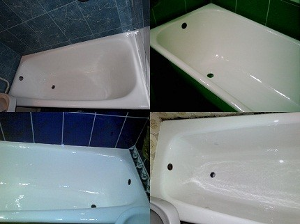Толщина покрытия ванны