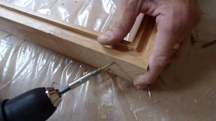 Еще один вариант сборки дверной коробки