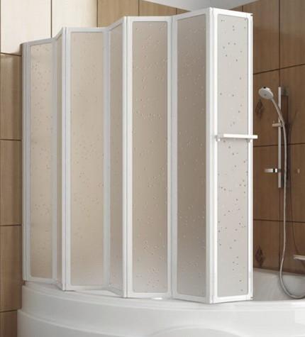 Складные шторы для ванной