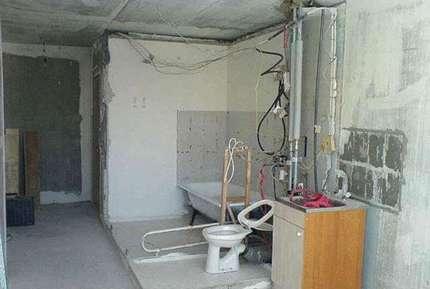 Перепланировка ванной в хрущевке