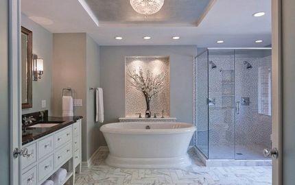 Заснеженная ванная