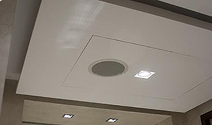 Акустика, встроенная в потолок