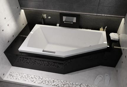 Акриловая ванна в санузле