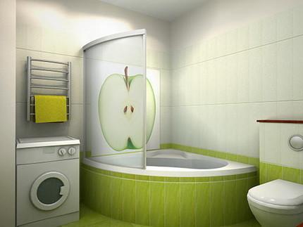 Материалы для отделки стен ванной