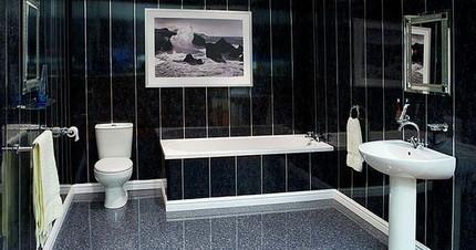 ПВХ панели на стенах ванной