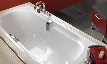 Вместительность чаши ванной