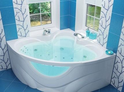 Ультрасовременная акриловая ванна
