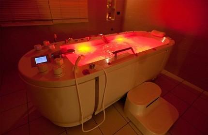 Гидромассажная ванна против стресса