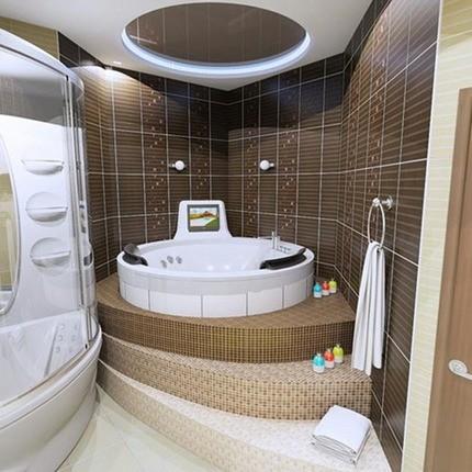 Обустройство подиума для ванной