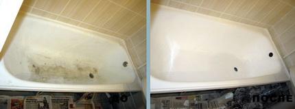 Самостоятельная эмалировка ванны