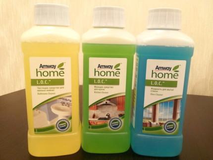 L.O.C. для чистки ванны от компании Amway