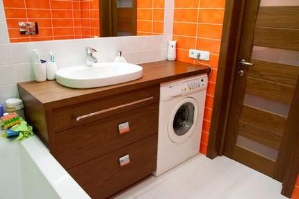 Мебель для ванны из МДФ