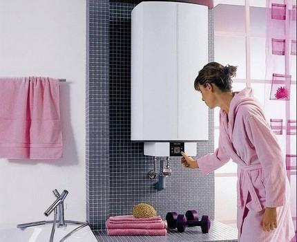 Электрический водонагреватель вертикального исполнения