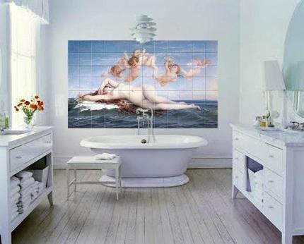 Сублимация в ванной