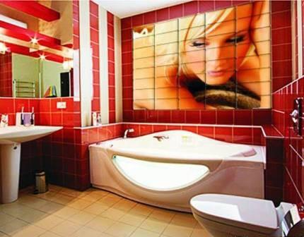 Портрет в ванной