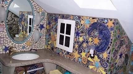Цветастая мозаика