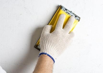 Обработка стены под покраску