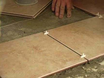 Крестообразные разделители для плитки