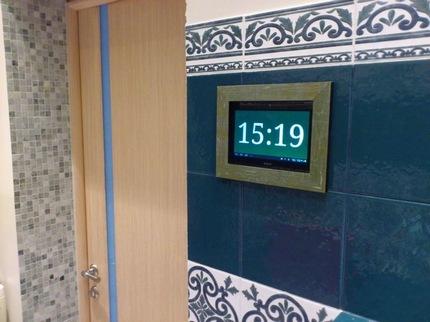 Стационарное радио на стене