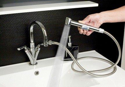 Гигиенический душ с раковиной