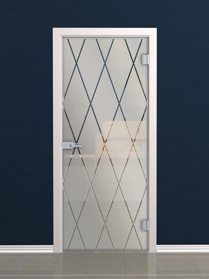 Стеклянные двери от компании АКМА