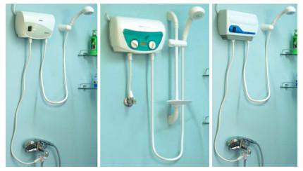 Напорные водонагреватели для крана