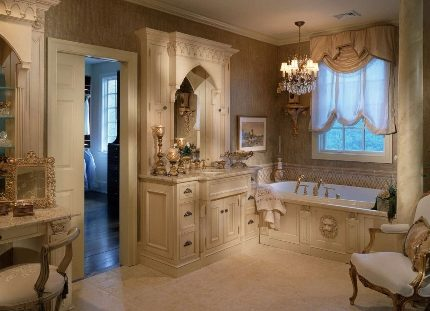 Обстановка ванной