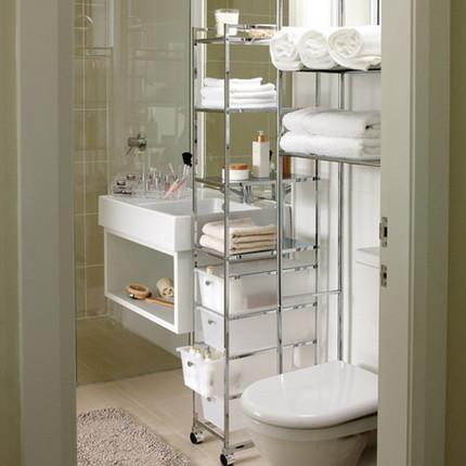Функциональная перегородка в ванной