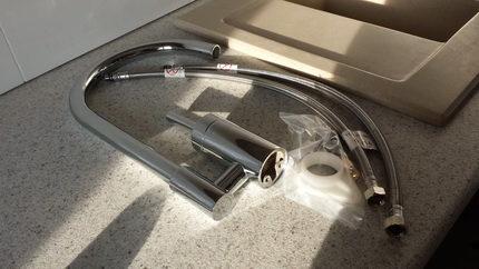 Монтаж смесителя в ваннную