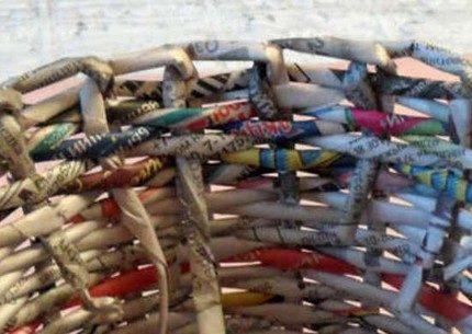 Плетение окантовки